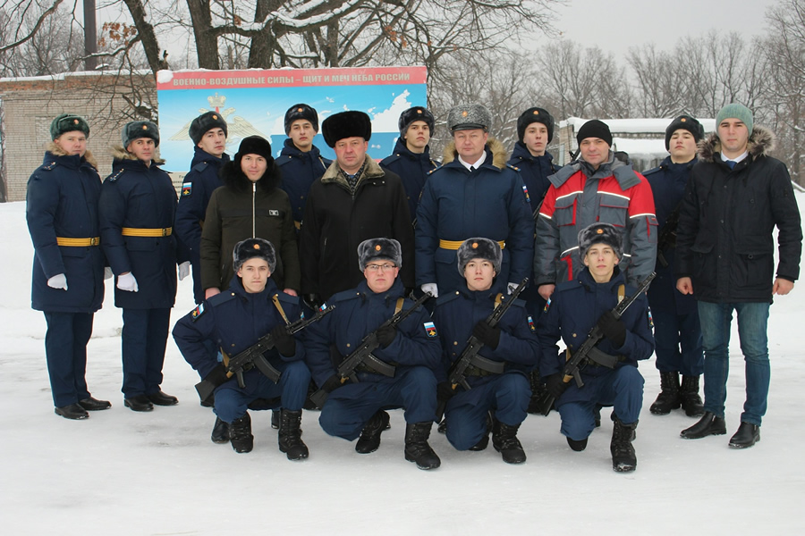 "The representatives of ""Alnas"" plant and Almetyevsk district visited the sponsored military unit in Samara region"